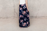 FARAH FLORAL POCKET MAXI SKIRT