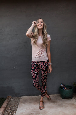 FIONA FLORAL PRINTED LEGGINGS