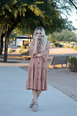 Annabelle Button Down Dress