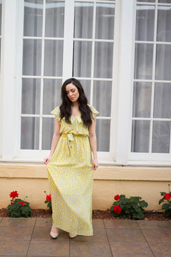 SOFT DREAMS MAXI-YELLOW