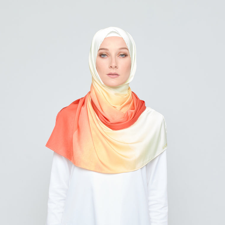 GAYA Nature Inspired Scarf - Sunset