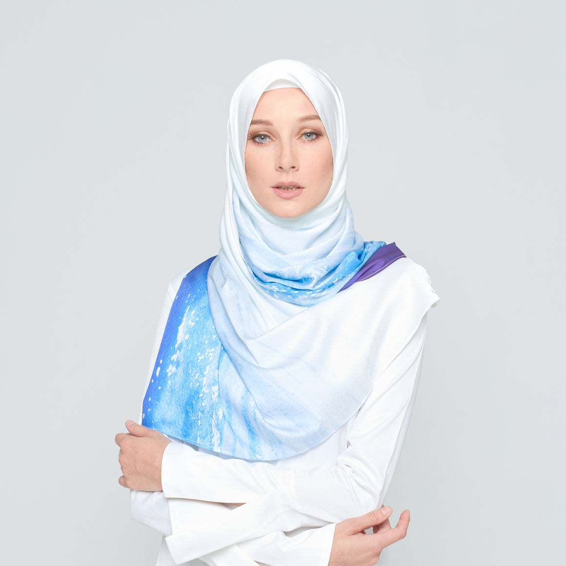 GAYA Nature Inspired Scarf - Ocean