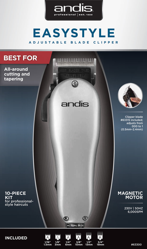 Andis Easy Style Adjustable Blade Home Clipper | Unisex Groom