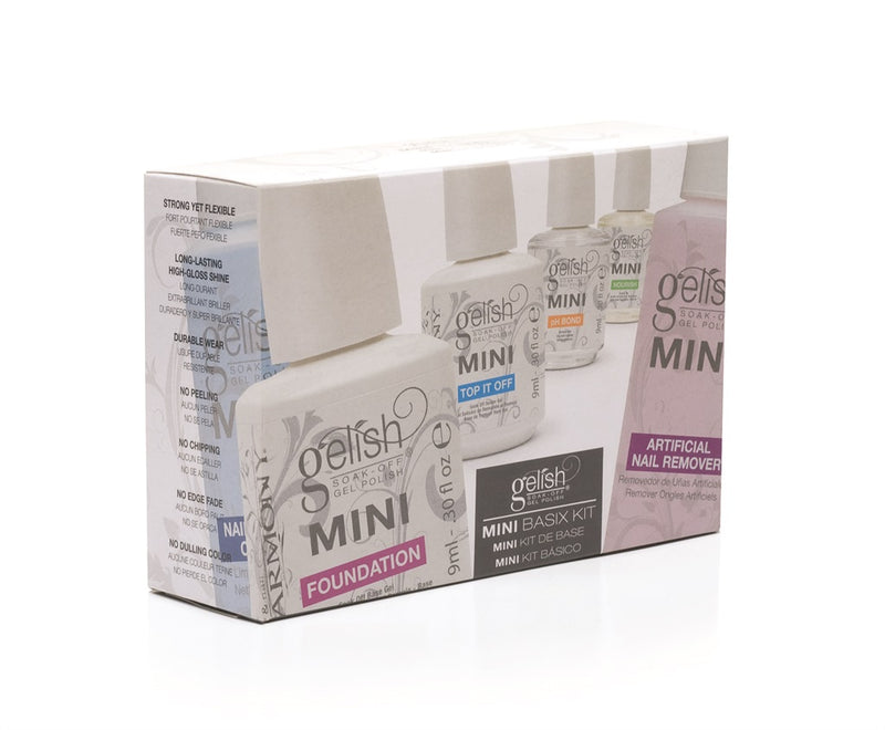 Gelish Mini Basix Kit online at Unisex Groom. | Unisexgroom.com.au
