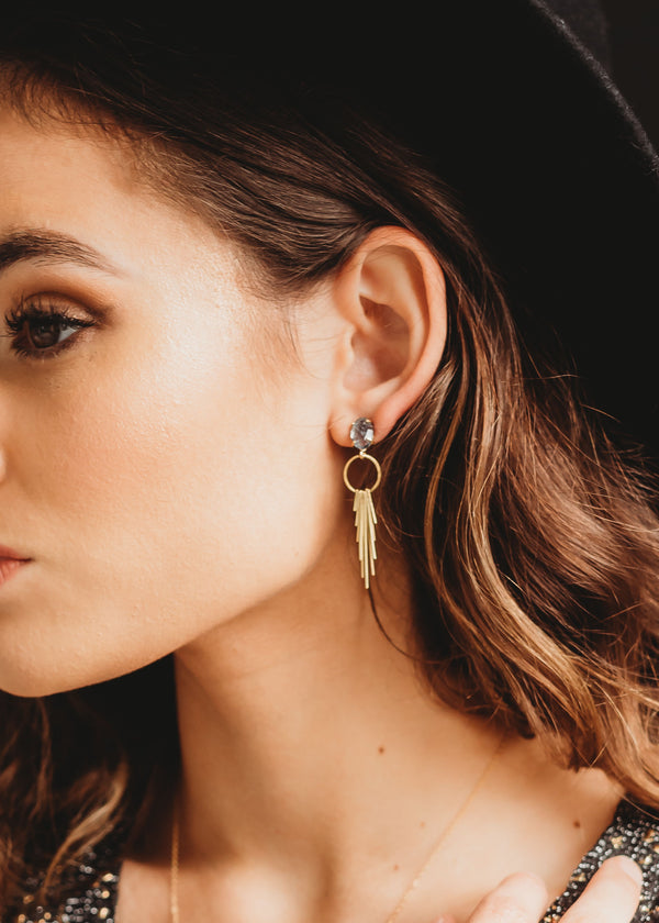 Aphrodite Statement Earrings - WILL RESTOCK IN FOUR WEEKS