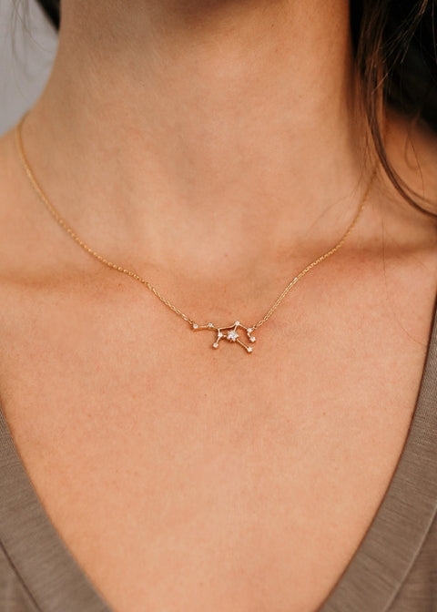 Zodiac Constellation Necklace - Choose your sign