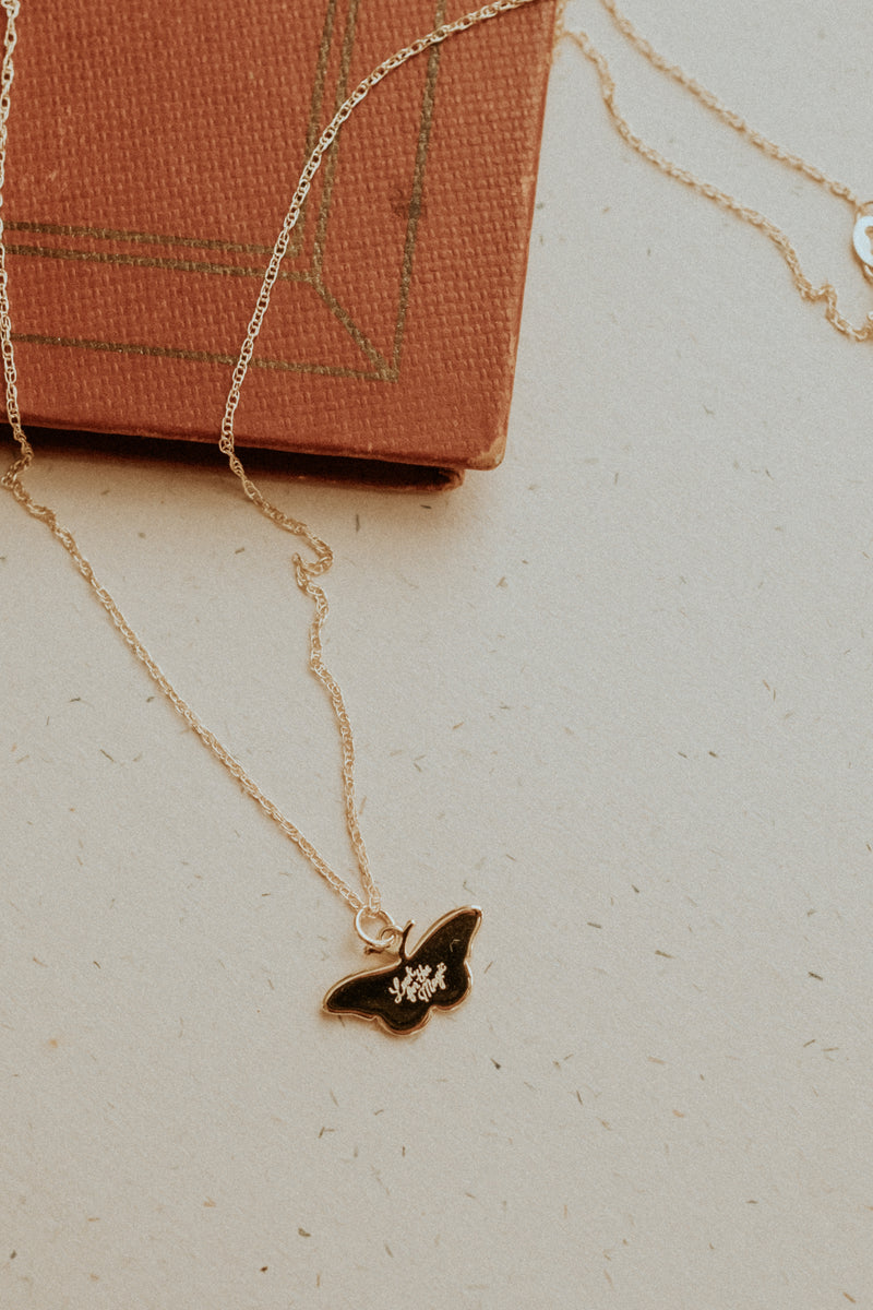 Look For The Magic Butterfly Necklace