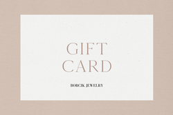 Borcik Jewelry Gift Card