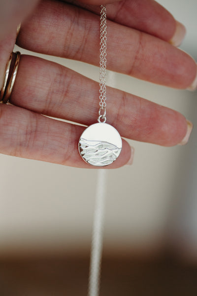 Silver Mountain Necklace - Collaboration with Morgan Harper Nichols