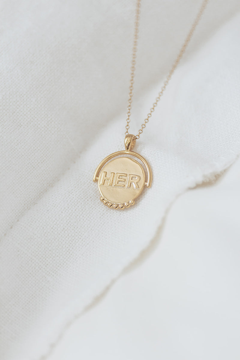 HER necklace - Inspirational Women's Necklace