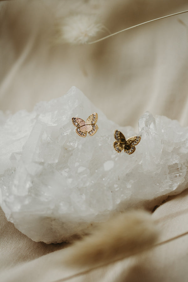 Magical Butterfly Stud Earrings