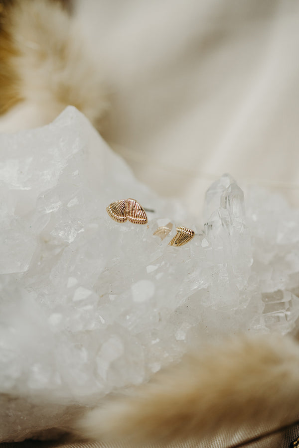 Split Wing Teeny Butterfly Studs