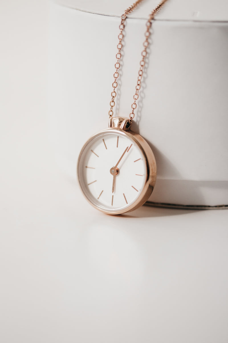 The Time Necklace - Stop Time Keepsake Necklace