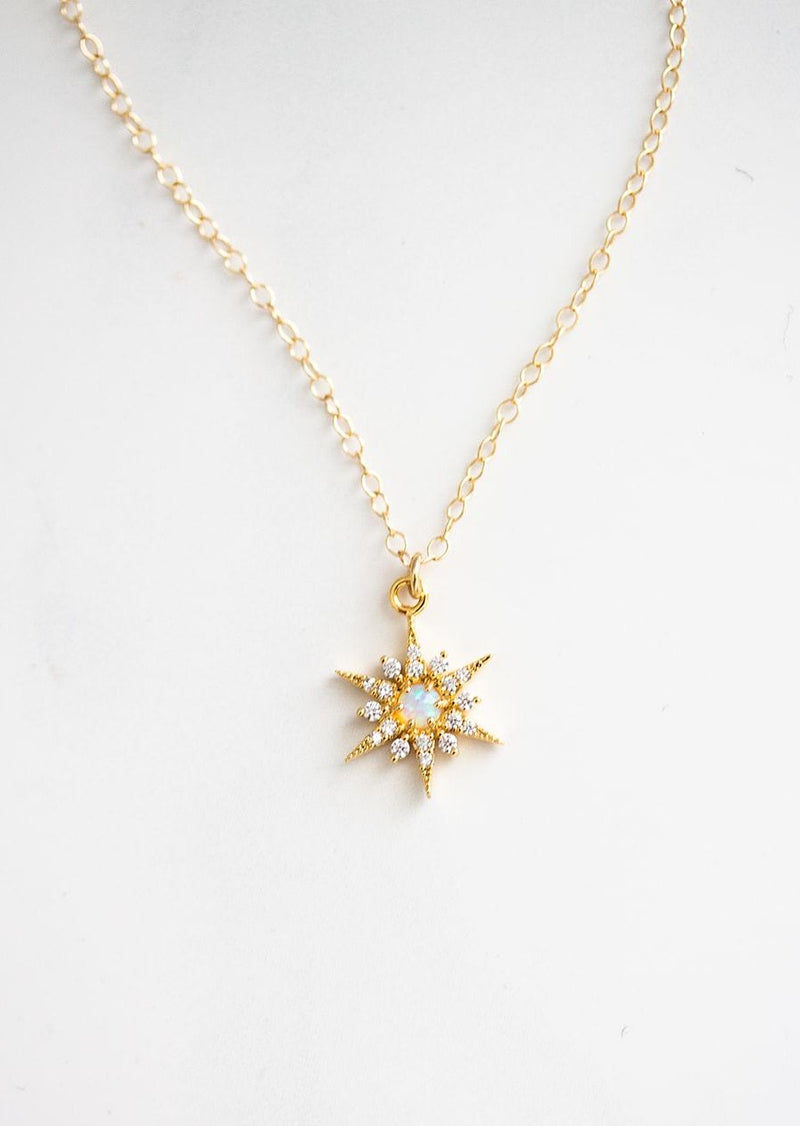 Nena Opal Star Necklace