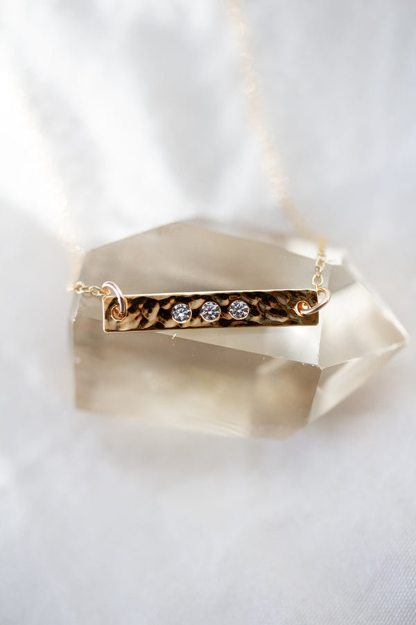 Grace Gold Bar Necklace