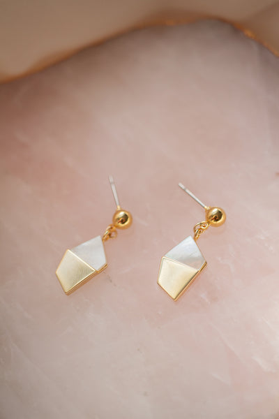 Love By The Sea Mother of Pearl Earrings