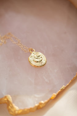 Seal It With A Rose Necklace