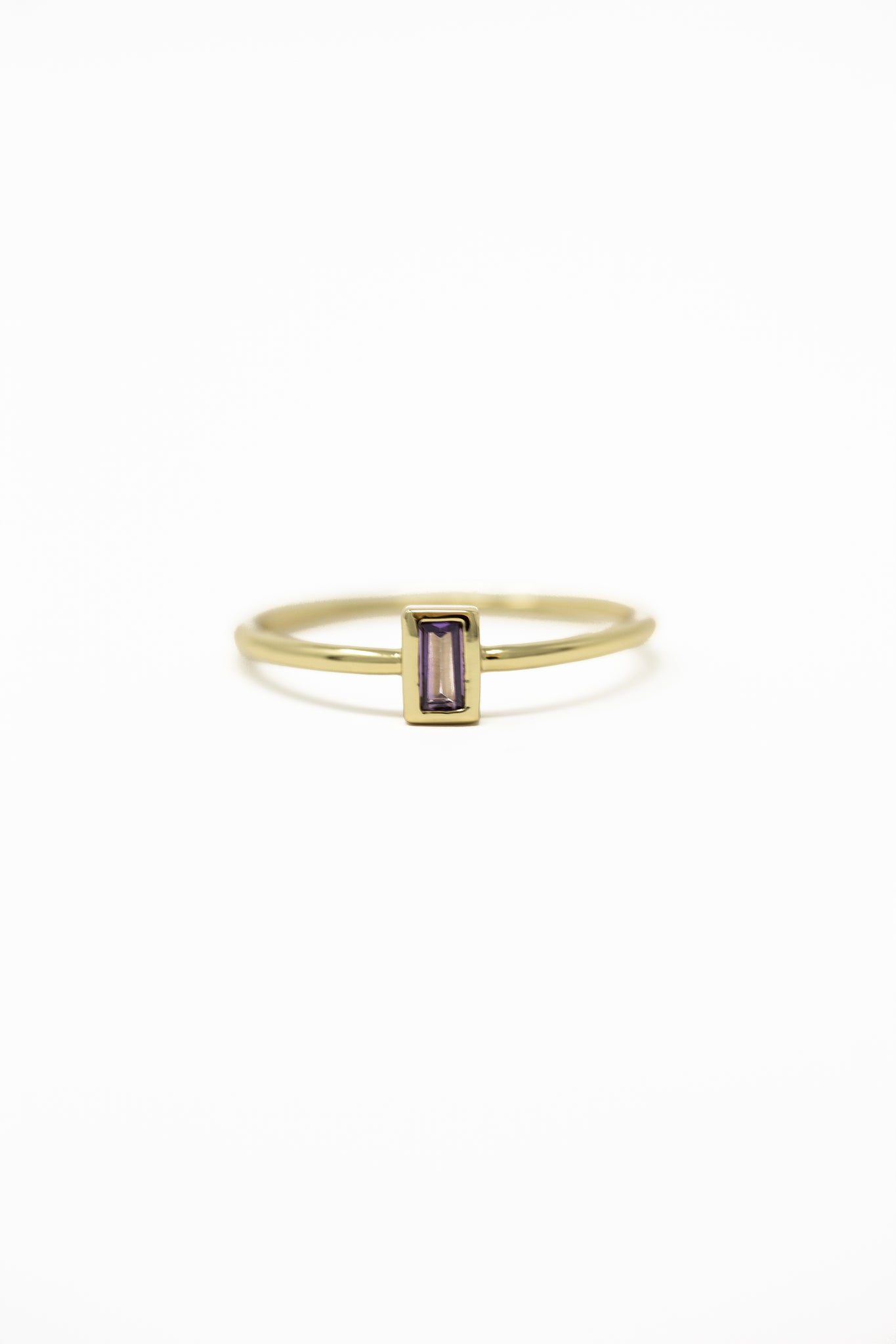 February Birthstone Ring | Amethyst