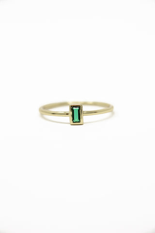 May Birthstone Ring | Emerald