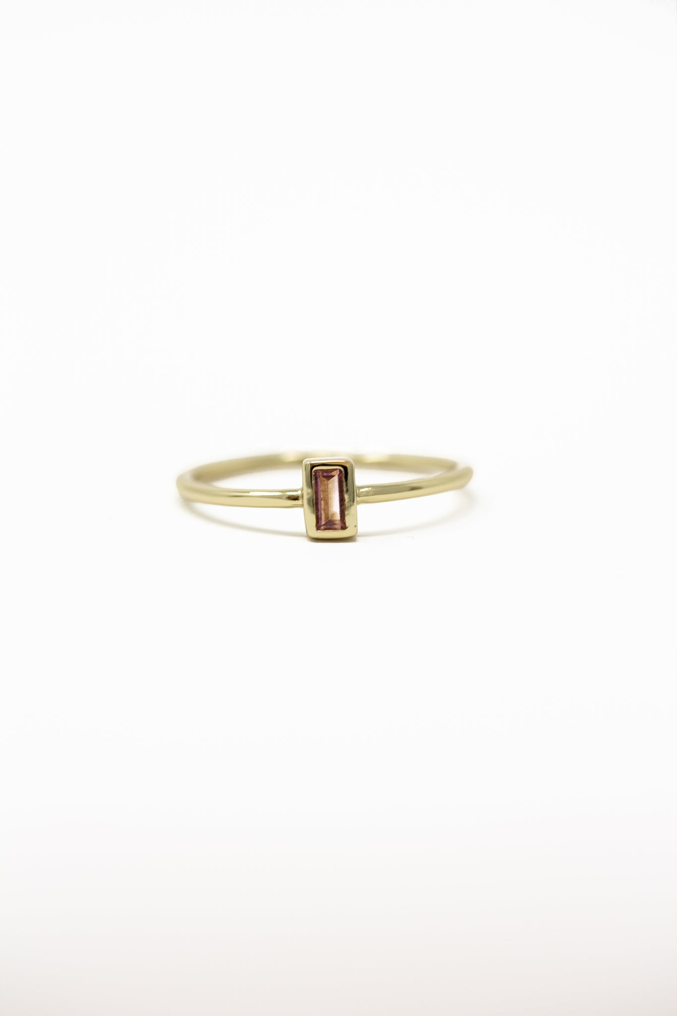 October Birthstone Ring | Tourmaline