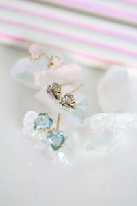 Set of 3 pastel dreamer tiny studs