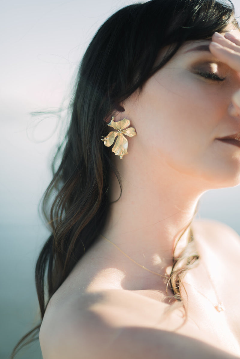 Bring Me Flowers Statement Earrings