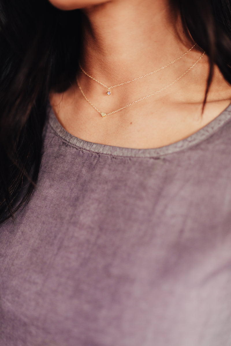 Tiny Heart Necklace - BORCIK