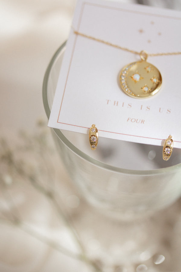 This Is Us Necklace and Earrings Set