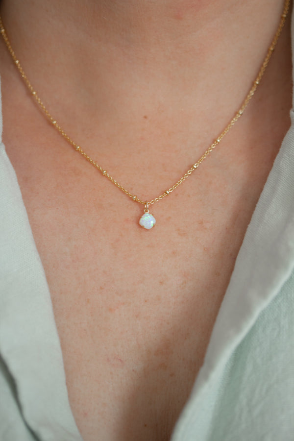 Satellite Opal Necklace