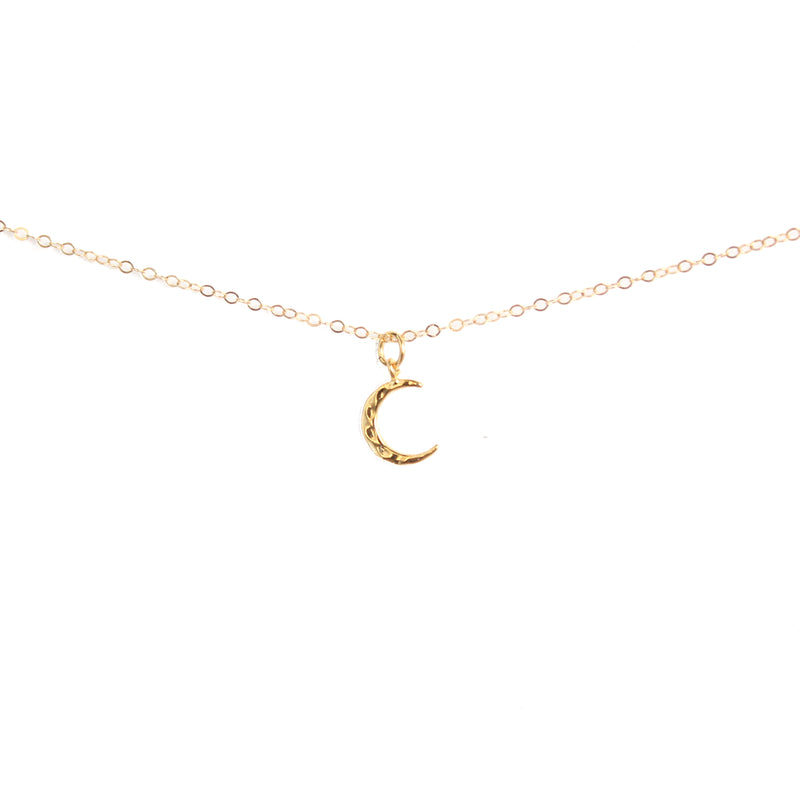 Minimalist Moon Necklace - BORCIK