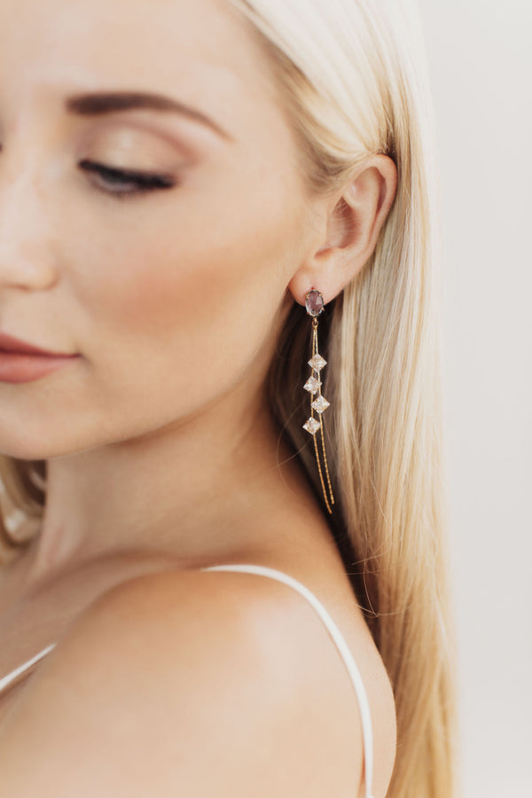Celine Bridal Drop Earrings