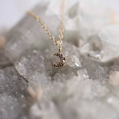 The Petite Jaci Necklace - BORCIK