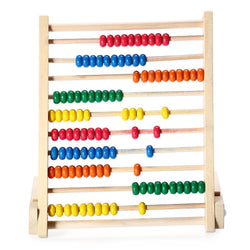 Wooden Abacus (10 Rows)