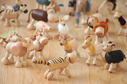 Wooden Animal Dolls (set of 4)