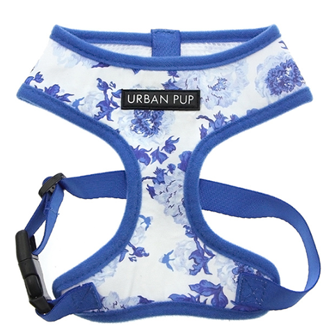 Blue Floral Harness