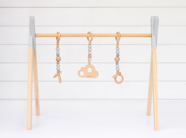 [playgym frame only] LUXE BEECHWOOD PLAY GYM