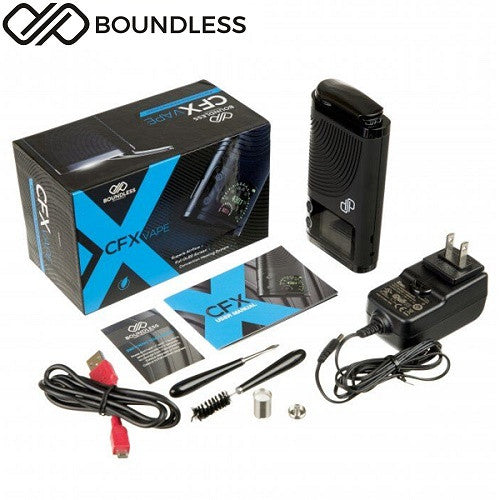 Boundless CFX 80W Portable Wax/Dry Herb/Thick Oil Vaporizer