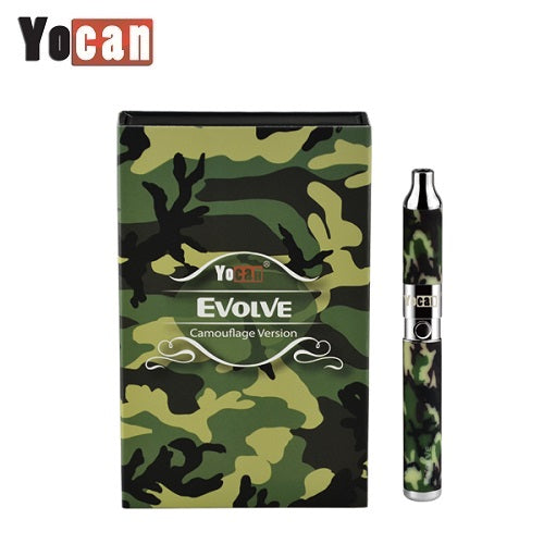 Yocan Evolve Camouflage Version Quartz Dual Coil Wax Vape Pen