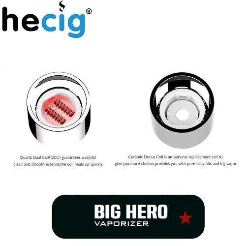 HeCig Big Hero Wax Pen Replacement Coils