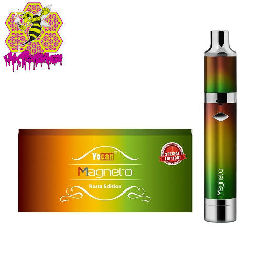 Yocan Magneto Rasta Edition Wax Pen Kit