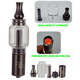 Q2 Quartz Tank Water Bubbler Vaporizer