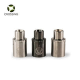 Saionara Sai Top Air Flow Airflow Replacement Cap Stainless Steel Black Titanium