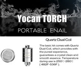 Yocan Torch Portable Wax Nail Coils