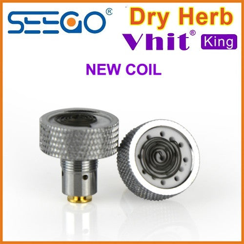 Seego V-hit King Dry Herb Atomizer Replacement Coils