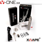 Xvape V-One 2.0 Dual Quartz Wax Pen/Portable Nail Vaping Kit