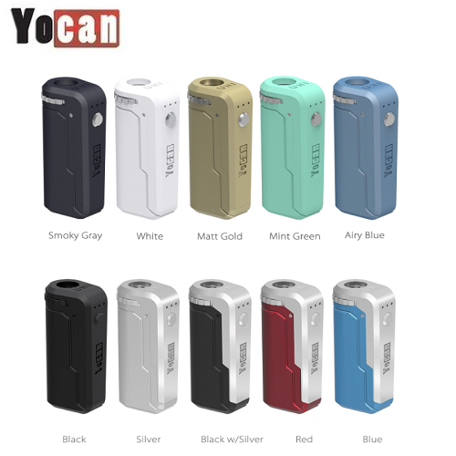 Yocan Uni Universal 510 Cartridge Mod Variable Voltage Preheat