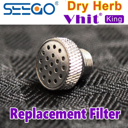 Seego V-hit King Dry Herb Vape Replacement Filter Screen Part