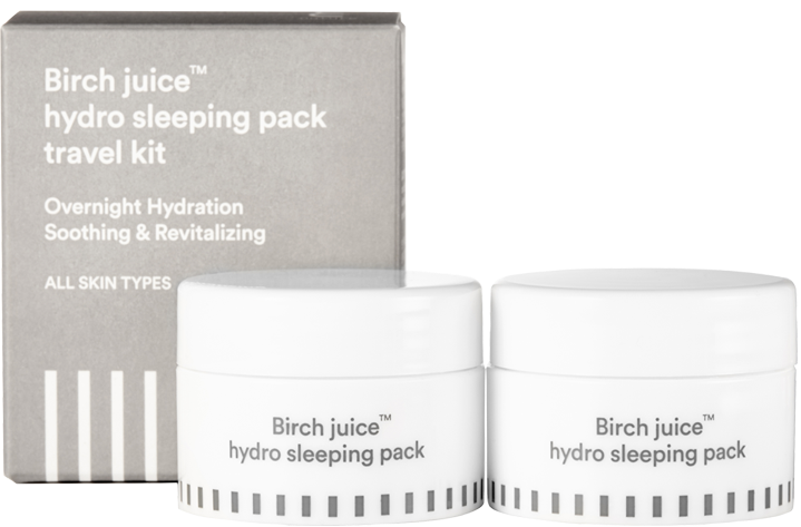 Enature Birch Juice Sleeping Pack Travel Size (2x 18ml)