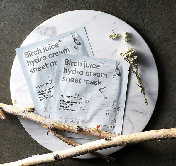 Birch Juice Hydro Cream Sheet Mask