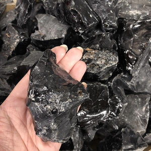 Black Tourmaline Large 1pc - Trickstar & CoAUS CrystalsCrystals